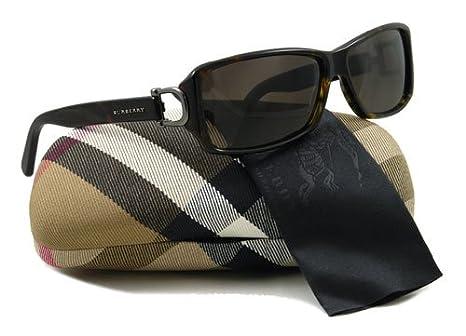Amazon.com: Burberry anteojos de sol B se 4008 3002/3 Habana ...