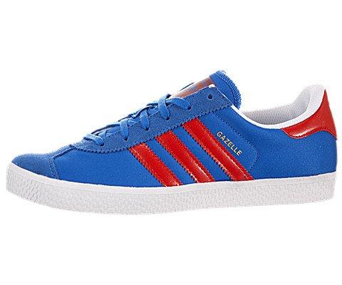 Adidas Gazelle 2J Blue White Kids Trainers Size 6.5 UK