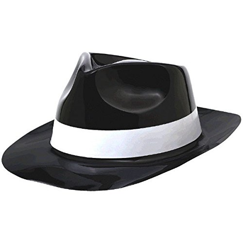 Amscan 250261 Theme Party Fedora Hat, One Size, ()