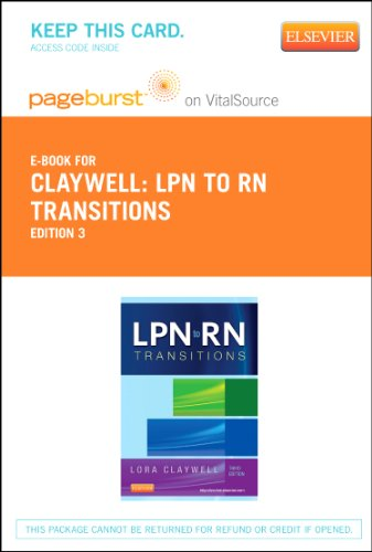 LPN to RN Transitions - Elsevier eBook on VitalSource (Retail Access Card), 3e