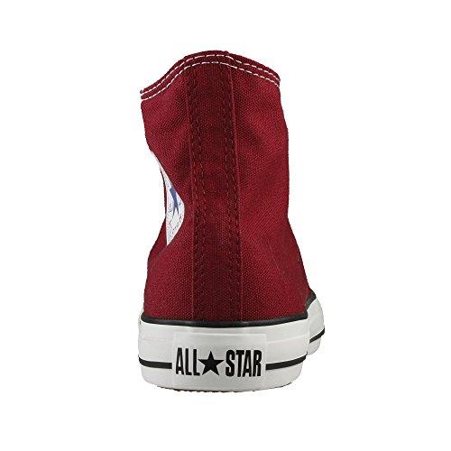 Converse Ctas Core Hi Sneaker, Unisex Adulto rosso vinaccia