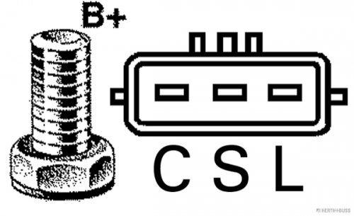 H+B JAKOPARTS J5111139 Lichtmaschinen
