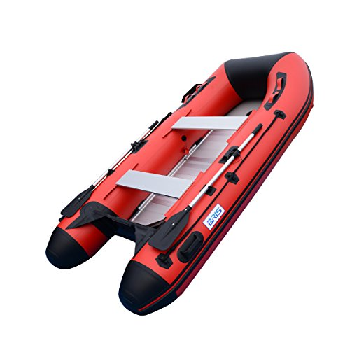 BRIS 10ft Inflatable Boat Inflatable Rafting Fishing Dinghy Tender Pontoon Boat ()