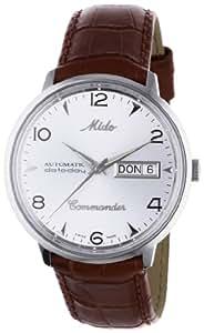 MIDO Commander M841945181 - Reloj de caballero automático, correa de piel color marrón
