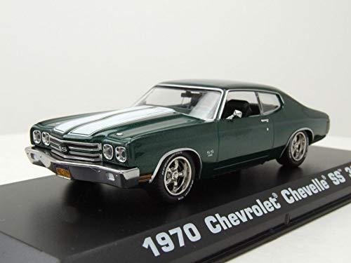 - Greenlight 86541 1: 43 John Wick (2014) - 1970 Chevrolet Chevelle SS 396 Multicolor