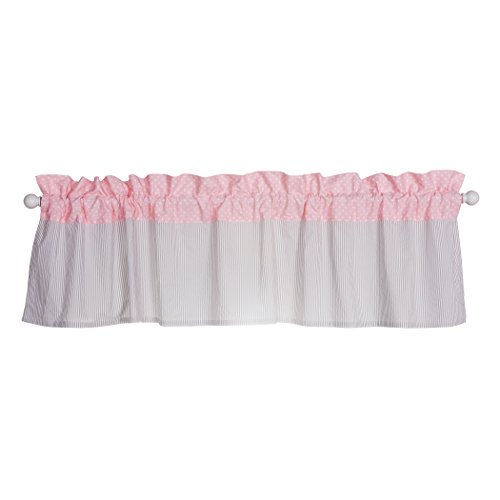 - Trend Lab Window Valance, Cotton Candy