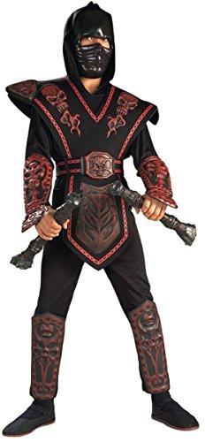 Rubie (Red Skull Warrior Ninja Child Costume)