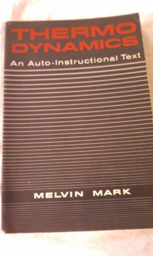 Thermodynamics; an auto-instructional text