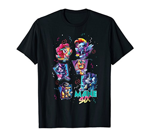 My Little Pony Mane Six 80's T-Shirt