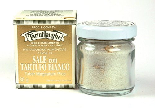 Tartuflanghe Guerande Grey Salt with White Truffle (1.05 Oz.) by Sweet Imports