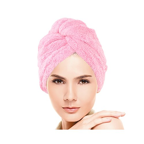 Huluwa Hair Drying Towel, Dry Hair Cap, Fast Drying Hair Towel Wrap Turban, (Quick Dry Hair Towel)