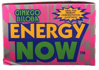 Energy Now Ginkgo Biloba Herbal Supplement 72 3 Tablets