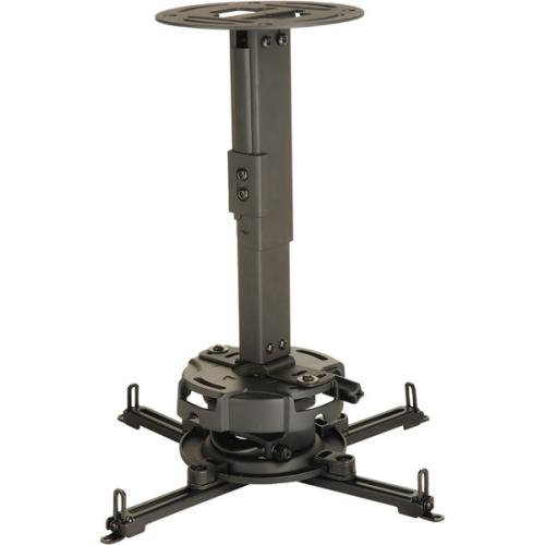 Peerless Prg Series - Peerless PRG Series PRG-EXA-W 8.7-Inch to 12.8-Inch Adjustable Projector Ceiling/Wall Mount Kit (Black)