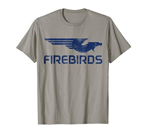 Kettering Firebirds Blue Bird Logo T-shirt