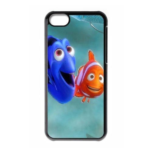 Finding Dory 003 coque iPhone 5C Housse téléphone Noir de couverture de cas coque EOKXLLNCD10305