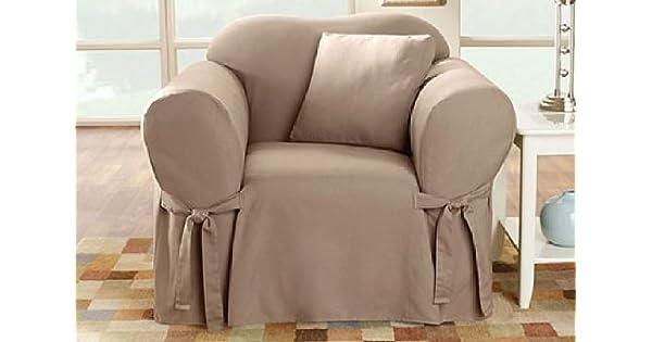 Amazon.com: Funda para sofá de pato de ajuste seguro, funda ...