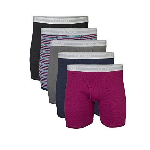 Gildan-Mens-Regular-Leg-Boxer-Briefs-Multi-Pack