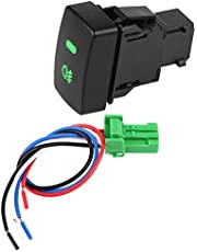 Fydun 5 Pins Fog Light On/Off Switch 644327 Connecting Line for for Honda Civic 1996 1997 1998 1999 2000 Accord Odyssey CR-V 2002 2003 2004 2005 2006 2007 2008 2009 FIT 2008 2009 2010 2011 2012 2013
