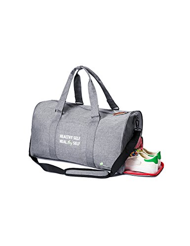 Inspirational Sports Duffel Gym Bag Weekender with Shoe Compartment:Achieve - Cheap Kids For Oakleys