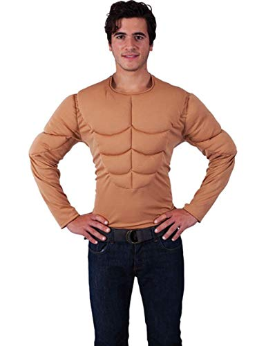 Orion Costumes Mens Padded Muscle Chest Shirt Top for Army Standard]()