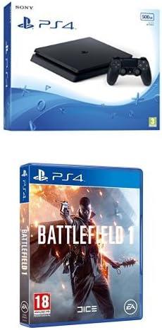 PlayStation 4 Slim (PS4) 500 GB - Consola + Battlefield 1: Amazon.es: Videojuegos
