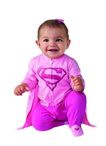 Rubie's Costume Baby Girl's DC Comics Superhero Style Baby Supergirl Costume