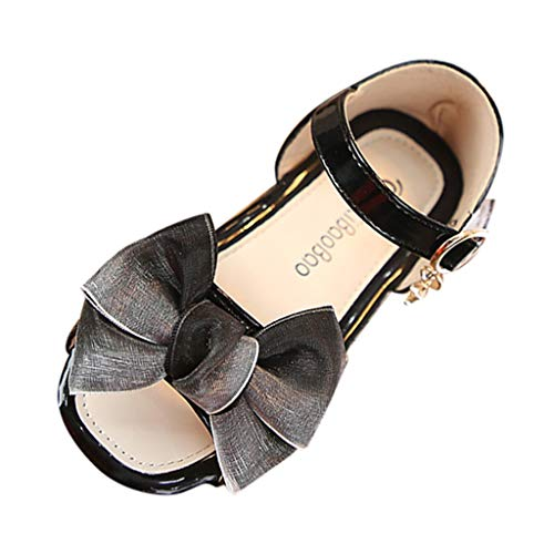 SMALLE ◕‿◕ Princess Sandals for Girls, Summer Toddler Baby Kids Girl's Sandals Bowknot Pendant Casual Dress Dance Shoes -