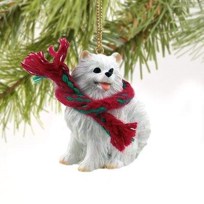 - Miniature American Eskimo Miniature Dog Ornament