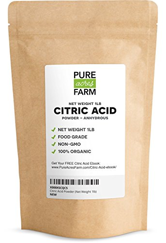 Pure Citric Acid Powder Organic