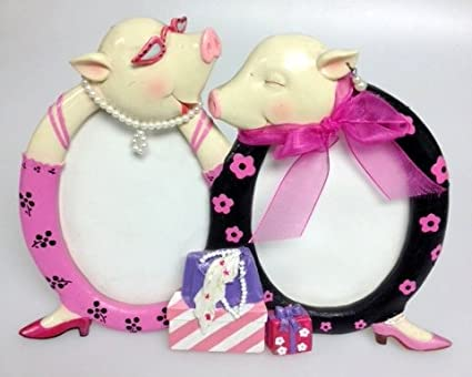 Amazon.com - Fancy Pig Dual Picture Frame - Luxury Frames