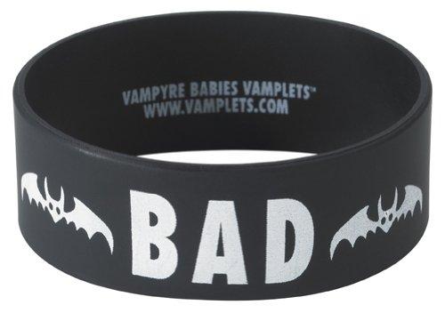 BAD Wrist Band - BLACK (Save a Bat!)