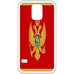 Montenegro Flag White Samsung Galaxy S5 Cell Phone Case - Cover