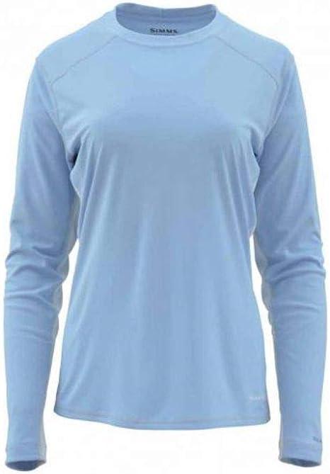 Simms SolarFlex Camisa de Cuello Redondo para Mujer (Vaquero desteñido, Talla XS): Amazon.es: Deportes y aire libre