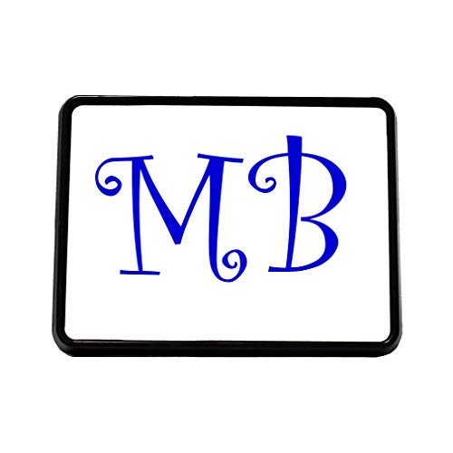 Style In Print Custom Text Personalized Plastic Truck Hitch Cover Tow Trailer Hitch Receiver 2 Letters