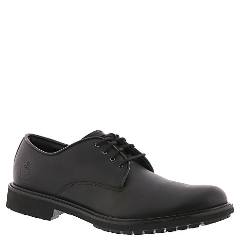 Timberland Men's Earthkeepers Stormbuck Plain Toe Oxford,Black Smooth Full Grain Leather,US 9.5 -