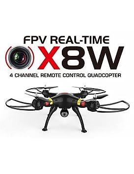 FYQ& Syma x8w cámara drone wifi en tiempo real de 4 canales 2,4 g ...