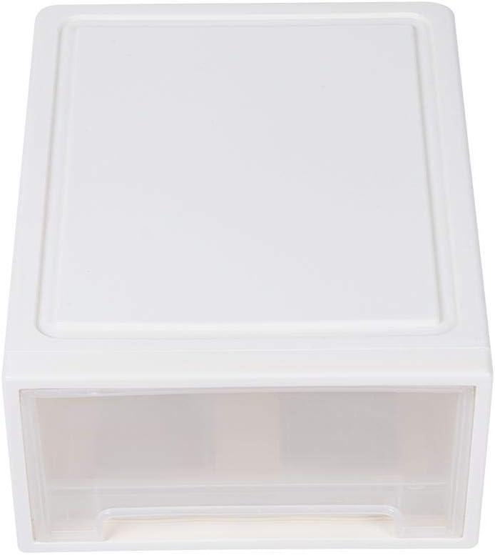Mumusuki Organizador de Caja de Almacenamiento de Escritorio de Tipo de cajón de una Sola Capa para el Precio de la Sala de Estar de la habitación del hogar