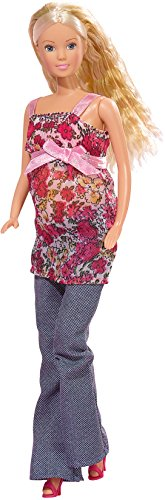 (Steffi Love Welcome Baby Pregnant Doll + 13 Accessories)