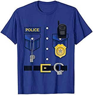 [Featured] Kids Police Officer Costume - Halloween Outfit Blue Police in ALL styles | Size S - 5XL
