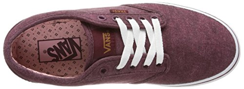 Womens Shoe Canvas 5 US Vans Windsor Wine Atwood Washed 5 Red wXBqnpRnY