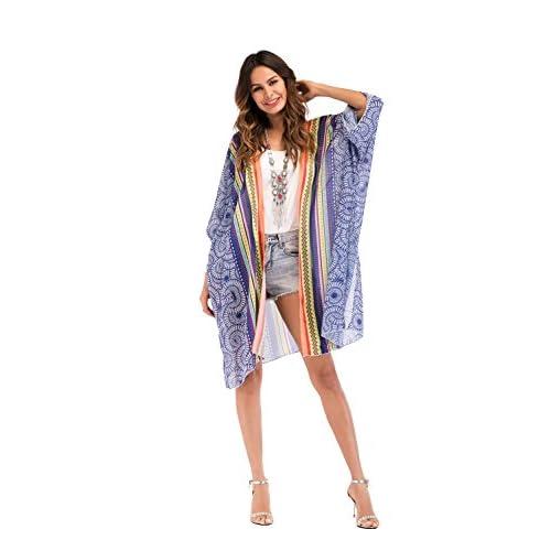 cd46f344 hot sale Mujer Bikini Cover Up - Gasa Mujer Ropa de Playa Traje de Baño  Estampado