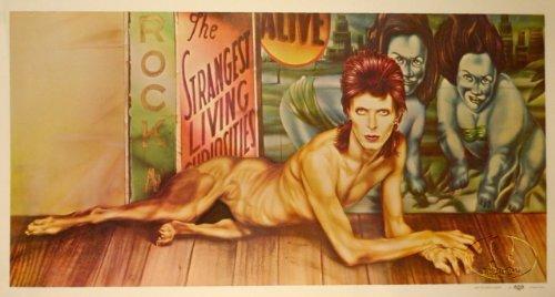 David Bowie 1974 Diamond Dogs RCA Rare Promo Poster