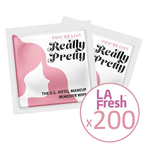 La Fresh Travel Lite Makeup Remover Cleansing Travel Wipes - Natural, Biodegradable, Waterproof, Facial Towelettes With Vitamin E - Individually Wrapped & Sealed (Pack of 200) by La Fresh (Image #7)