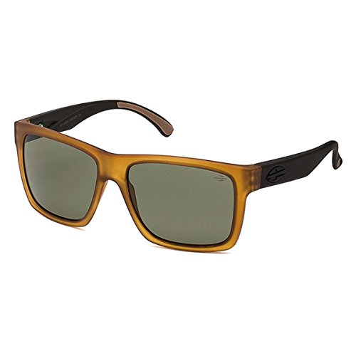 Mormaii San Diego Sunglasses, Tawny with Black Arms and Grey - Sunglasses Sun Diego