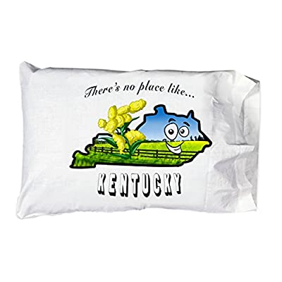 There's No Place Like Kentucky - Pillow Case Single Pillowcase