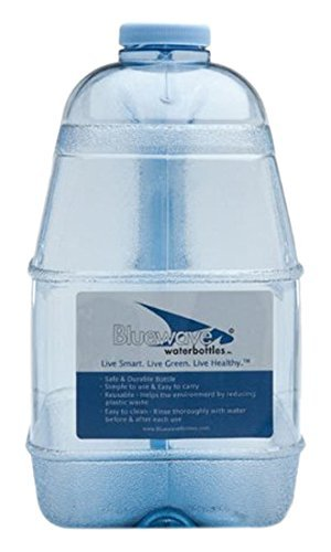 Bluewave Lifestyle Square BPA Free Water Bottle with 48mm Cap, 1 Gallon