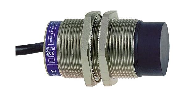 Telemecanique psn - det 30 09 - Detector inductivo metálico/a m30 corriente continua/3h pnp contacto cerrado 22/: Amazon.es: Bricolaje y herramientas