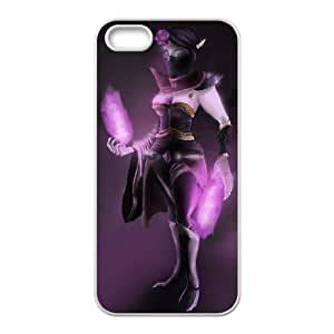 iPhone 5 5s Cell Phone Case White Defense Of The Ancients Dota 2 TEMPLAR ASSASSIN 002 LWY3566096KSL