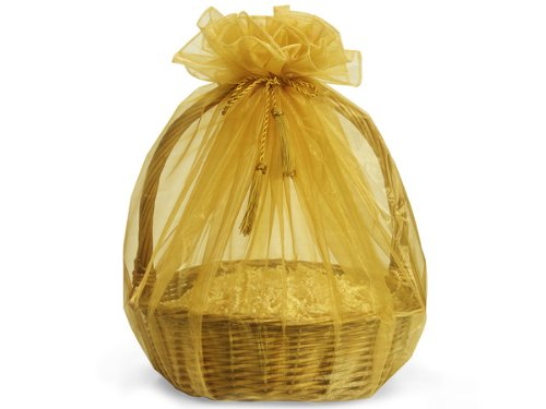 - GOLD Organza Wrappers 48