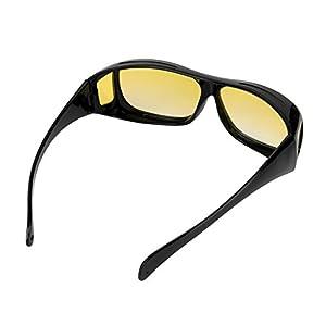 Navertu Night Vision Glasses For Driving Anti Glare Vision Driver Safety Sunglasses Lens Classic UV400
